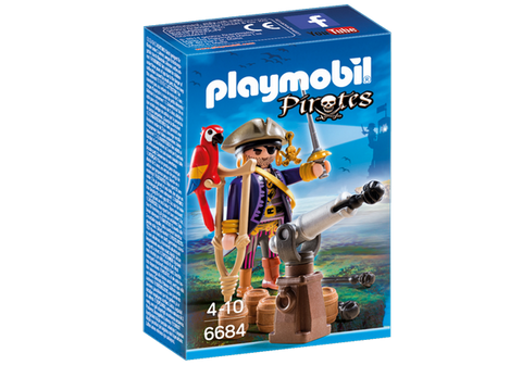 Playmobil Pirate Captain - 6684