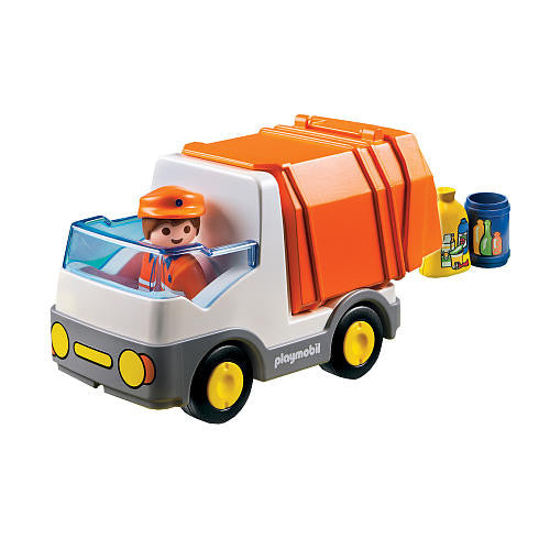 Playmobil 1.2.3. Recycling Truck - 6774