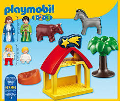 Playmobil 1.2.3 Christmas Manger 6786