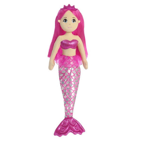 Sea Shimmers - Garnet Mermaid Doll 18""
