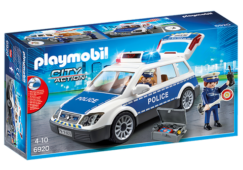 Playmobil Squad Car with Lights and Sound - 6920