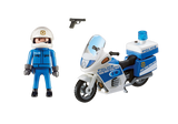 Playmobil Police Motorbike with LED lights - 6923