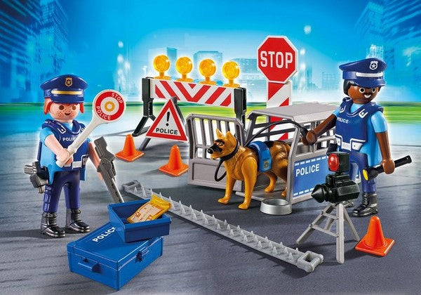 Playmobil City Action Police Roadblock - 6924