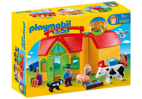Playmobil 1.2.3. My Take Along Farm - 6962