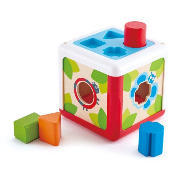 Shape Sorting Box - wooden shape sorter