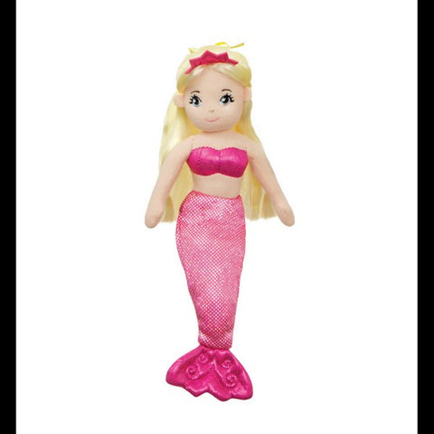 Sea Shimmers - Jewel Mermaid Doll 10""