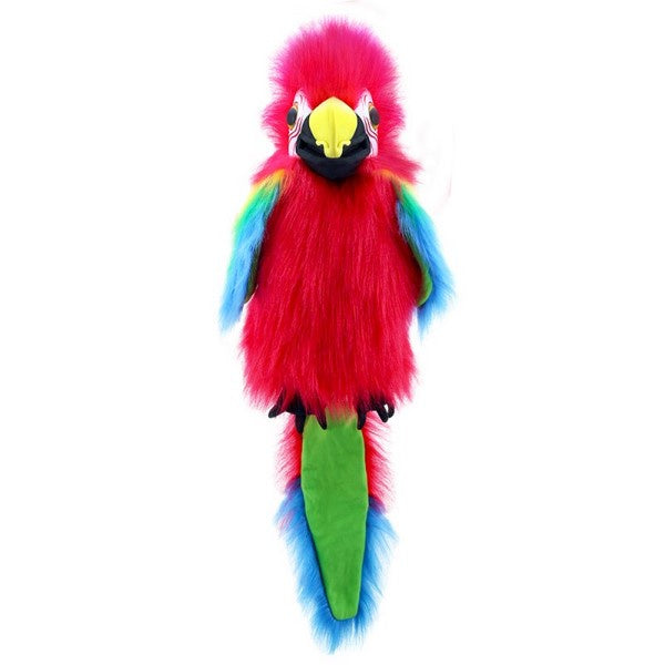 Large Birds Amazon Macaw Handpuppet