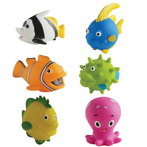 Squirty Bath Toys (assorted designs)