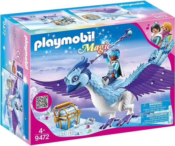 Playmobil Magic Winter Phoenix with Jewellery Case - 9472