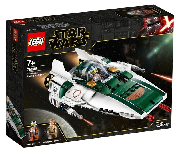 Lego Star Wars -  Resistance A-Wing Starfighter V29 75248