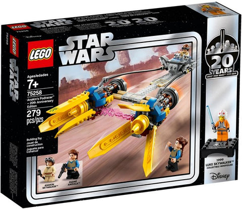 Lego Star Wars - Anakin's Podracer™ – 20th Anniversary Edition - 75258