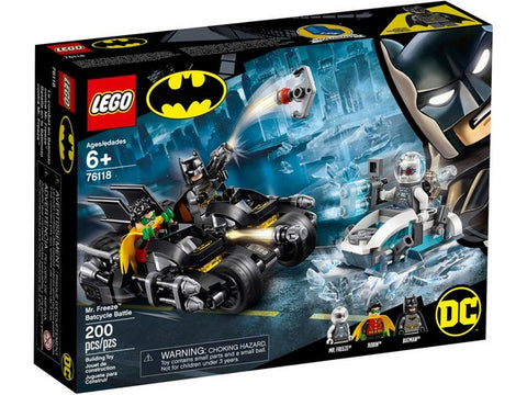 LEGO Batman - Mr. Freeze Batcycle Battle 76118