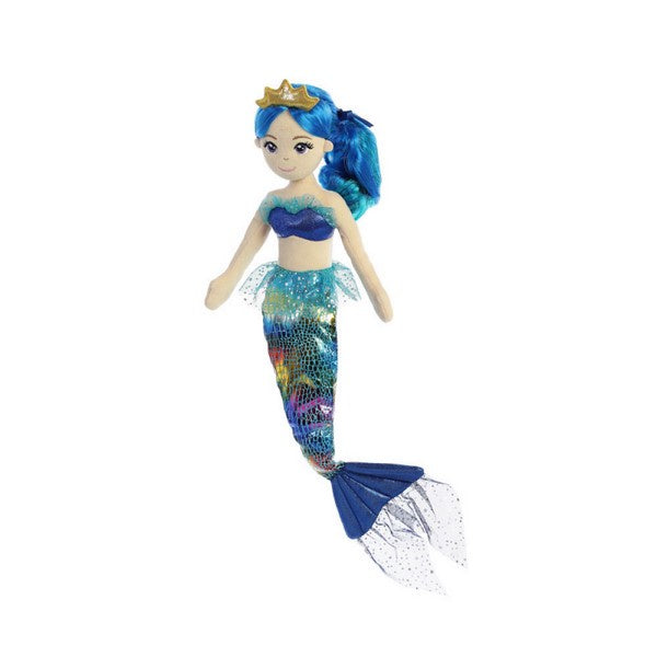 Sea Sparkles Rainbow Indigo Mermaid Doll 18""