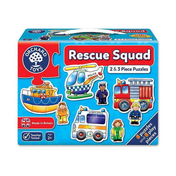 RESCUE SQUAD - first puzzles
