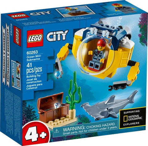 Lego City - Ocean Mini-Submarine - 60263