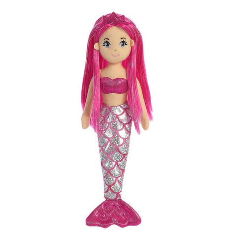 Sea Shimmers - Garnet Mermaid Doll 10""