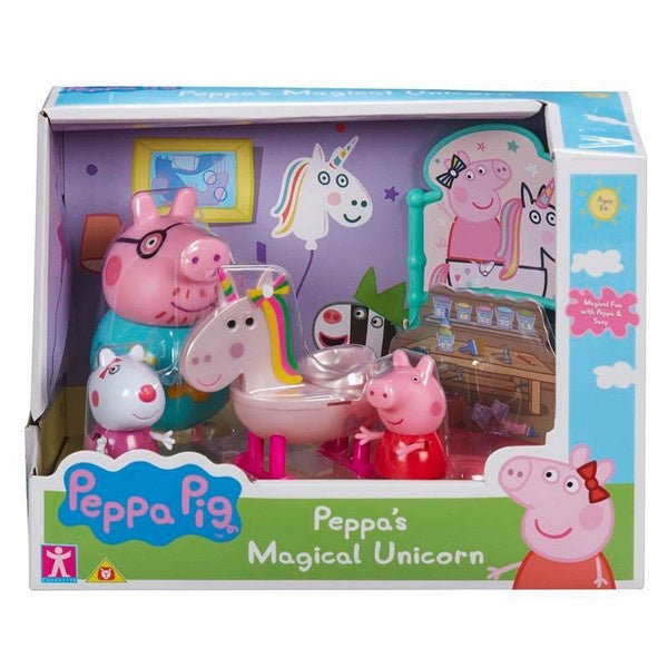 PEPPA PIG PLAYSET - Peppa's Magical Unicorn