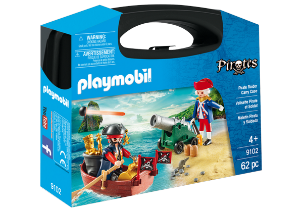 Playmobil Pirate Raider Carry Case - 9102
