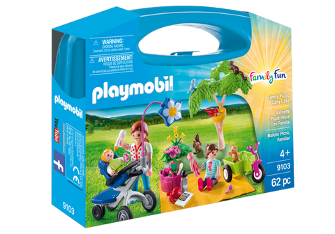 Playmobil Family Picnic Carry Case - 9103