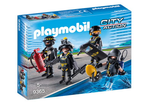 Playmobil City Action SWAT Team - 9365