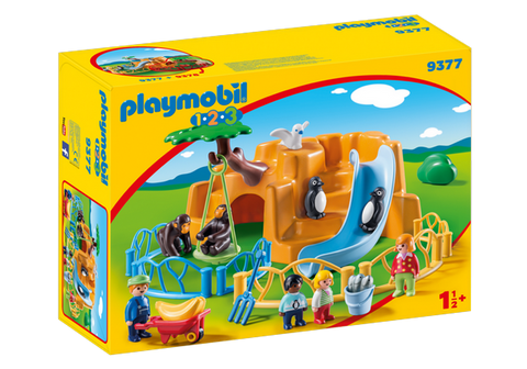Playmobil 1.2.3. Zoo - 9377