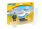 Playmobil 1.2.3. Police Helicopter - 9383
