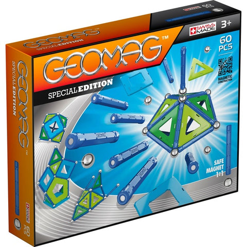 Geomag magnetic construction toy - Special Edition 60 piece set