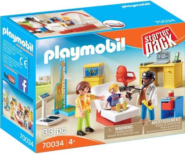 Playmobil - Paediatrician's Office  - 70034