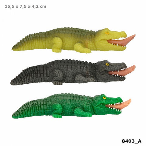 Dino World Squeezey Crocodile toy