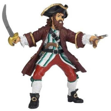 Barbarossa Papo Pirate Figure
