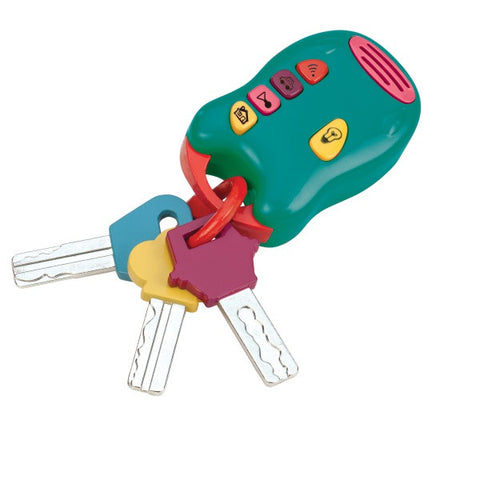 Light & Sound Keys - children's play keys set