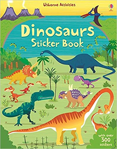 Big Dinosaur Sticker Book by Fiona Watt