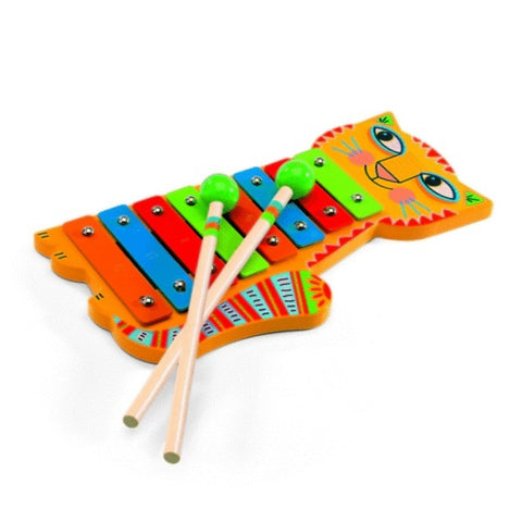 Animambo - Cat Xylophone by Djeco.  DJ06002