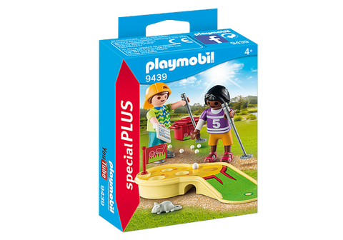Playmobil  Children Minigolfing - 9439