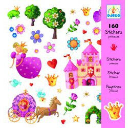 Djeco Princess Stickers.  DJ08830