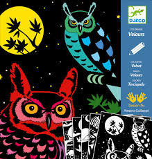 Djeco Colouring Velvet - The Forest DJ09623