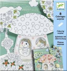Djeco Colouring - Thumbelina DJ09637