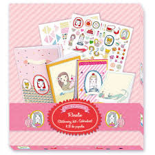 Djeco Rosalie Stationery Set - DJ09830