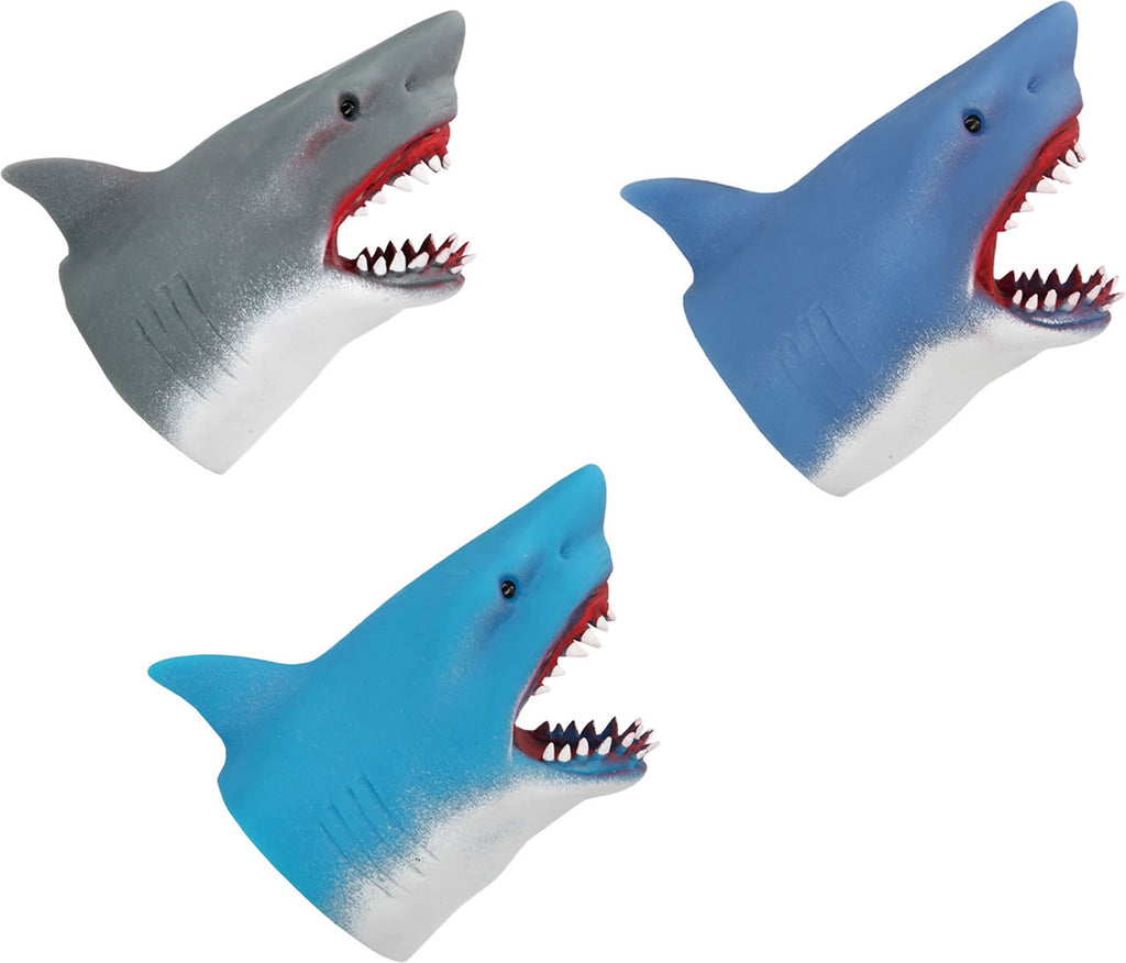 Dino World - Underwater World Handpuppet Shark (Light Blue)
