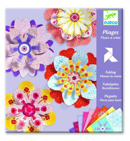 Djeco Origami Flowers to Create DJ09403