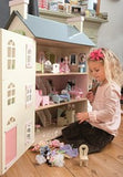 Cherry Tree Hall Wooden Dolls House by Le Toy Van