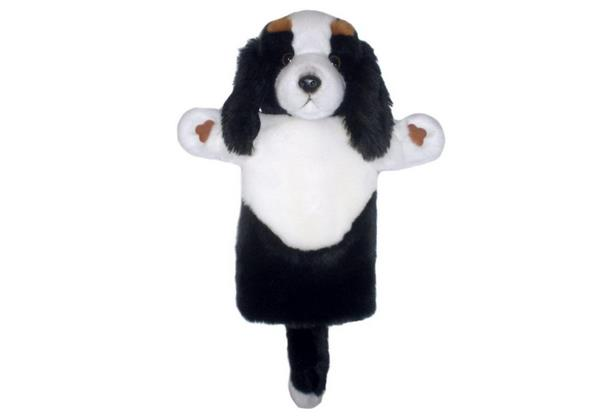 King Charles Spaniel Long Sleeve Hand Puppet