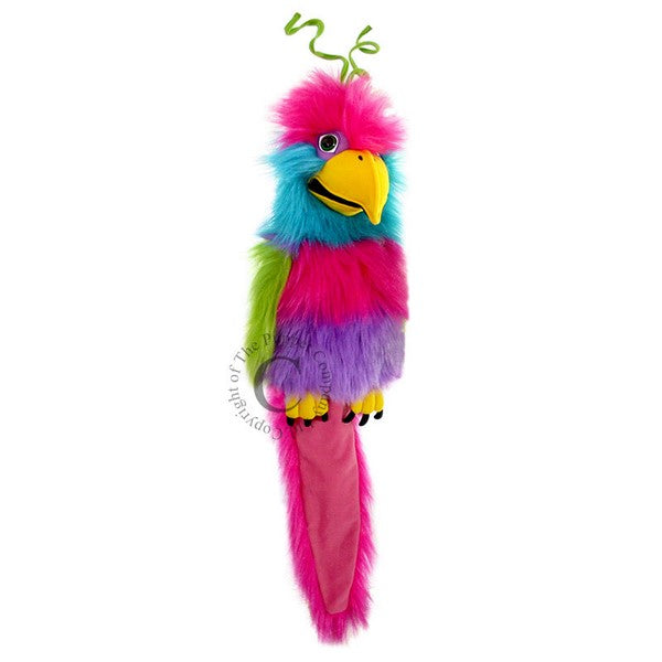 Large Bird of Paradise hand puppet by The Puppet Company