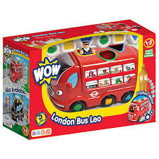 Wow Toys Leo London Bus