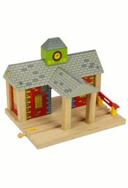 Big Jigs Wooden Train Set Accessories – Railway Station