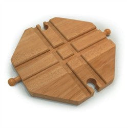 Big Jigs Wooden Train Set Accessories – Crossing Plate