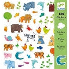 Djeco Animals Stickers