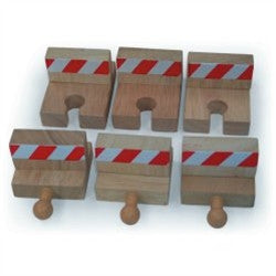 Big Jigs Wooden Train Set Accessories – Buffer Set
