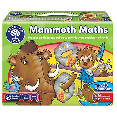 Mammoth Maths - Educational Game by Orchard Toys