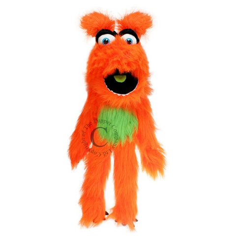 Orange Monster Puppet by Puppet Company